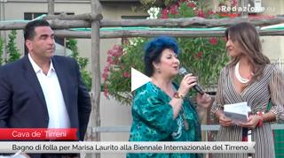Marisa madrina d'onore alla Biennale del Tirreno