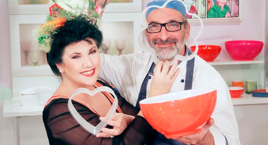 Marisa e Luotto in cucina