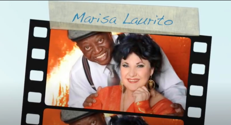 """Sud and South, Marisa in """"concerto"""" a teatro"""